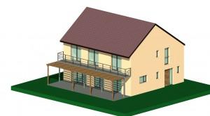 Premiers plans maison passive haute normandie