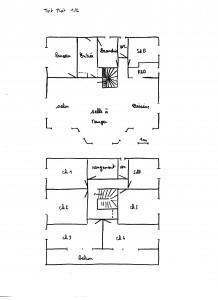 Premières esqisses maison passive haute normandie