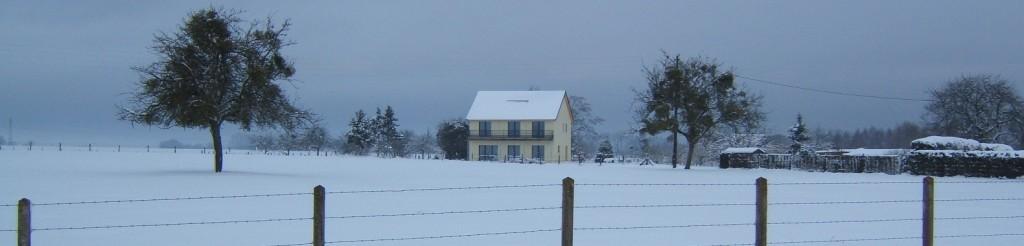 Maison passive 27 en Hiver